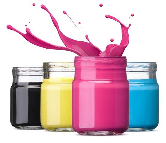 colores de impresión